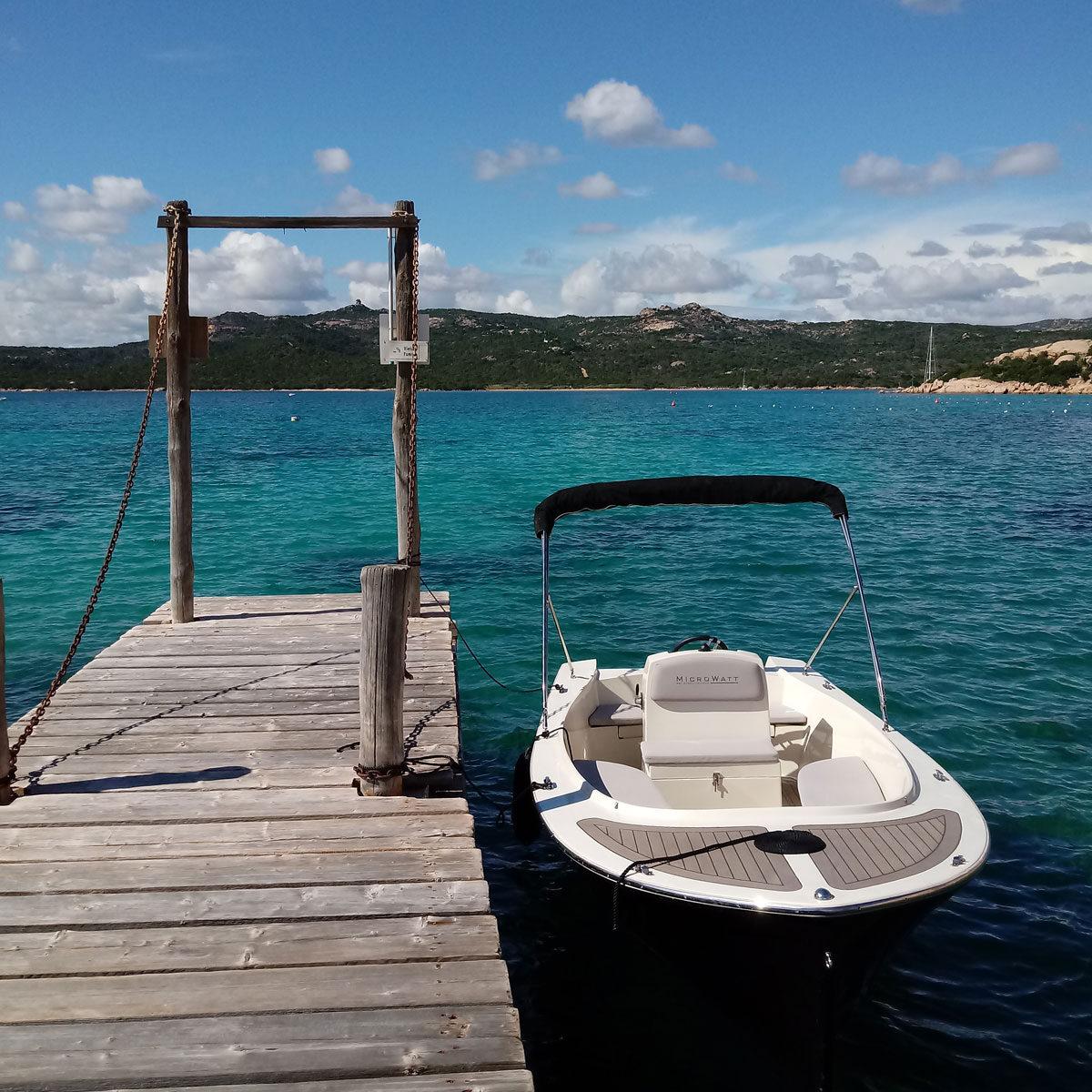 Retrofit - barca elettrica - Gardasolar
