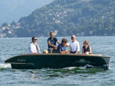 Barca elettrica_dogado 1600 E_Villa D'Este